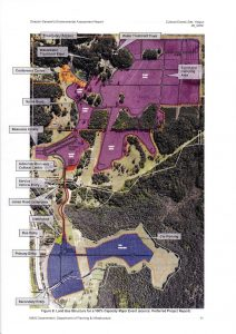 map of north byron parklands proposal
