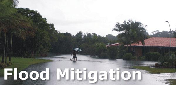 Flood Mitigation for Marshall Creek Flood Plain