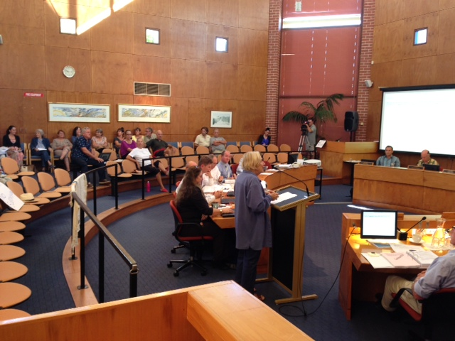 OSCA / RAG public address to Byron Shire Council