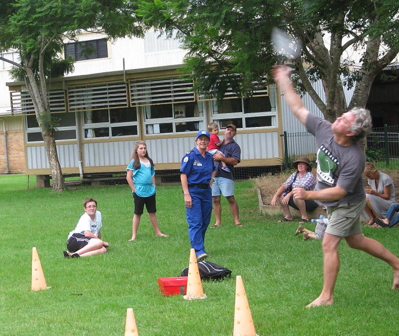 Ocean Shores Australia Day World Mullet Throwing Championship Goes International